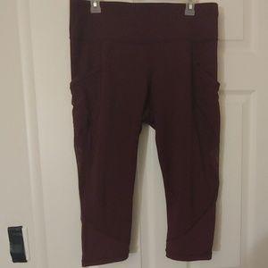 Lululemon Capri leggings/Activewear